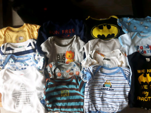 Huge Baby Boy Clothing Lot 0-3M