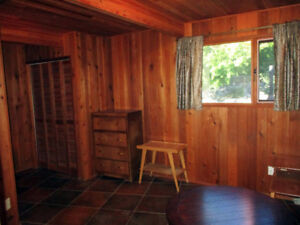 Cedar room, furnished, Big valley view