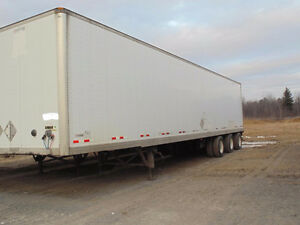 53 Foot Manac 12 Wheeler Container