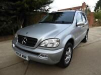 Mercedes-Benz ML270 2.7TD auto CDI 7 SEATS Full Documented Service History
