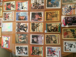 Hockey cards 70s-90s 100+ lot big name rookies must take all