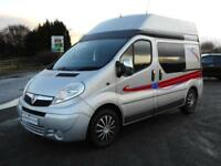 Vauxhall Vivaro High Top Newly Converted Camper with X4 3 Point Seat Belts