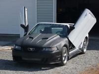Mustang lambo door