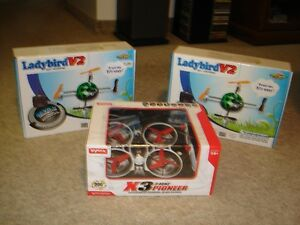2 NEW R/C RTF 2.4G  QUADCOPTERS - WALKERA/EXCEED/SYMA
