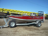 2013 Lund WC 12 foot boat with Yamaha 20 HP for sale!