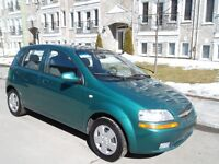 2005 CHEVROLET AVEO 5*1.6L AUTOMATIQUE *HACHBACK*4CLY**123KM*