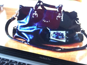brand new bought in Calgary, AB  Authentic coach purse all leath