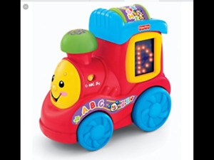 Fisher-Price Laugh & Learn ABC Train Retail 27.99$