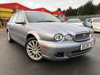 2008 Jaguar X Type 2.2d S 2009 5dr Auto TURBO DIESEL ESTATE 5 door Estate