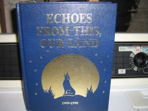 book Hardcover- Echoes from this our land