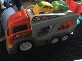 Kids car transporter.