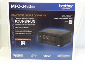 Brother MFC-J480dw, Imprimante tout-en-un avec fax  (all-in-one