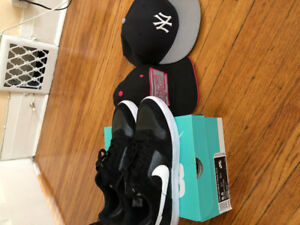 Shoes and hats that barely used but in great condition