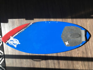 Zap Wedge Skimboard with Traction Pad