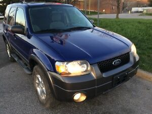 2006 Ford Escape XLT SUV, Certified & emission