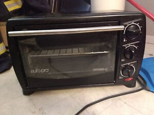 Hardly used toaster oven