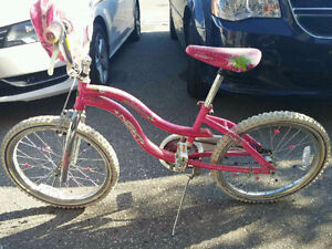 Girls bike (ages 5+)