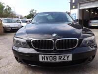 "BMW 730 3.0TD auto 2008 d Sport 79K SERVICE HISTORY 20"" ALLOYS DRIVE AWAY TODAY!"