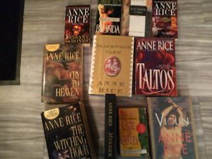 11 Anne Rice Novels