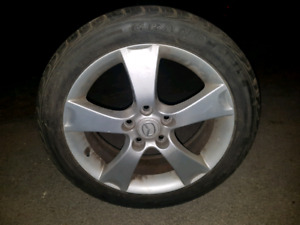 Mags Mazda 16 & 17 Pouce