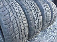4 pneus d'hiver 205 55 16