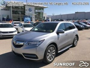 2016 Acura MDX Technology  - Navigation -  Sunroof - $286.81 B/W