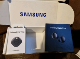 Samsung ear buds pro and smart tag
