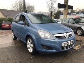 2008 Vauxhall Zafira 1.9 CDTi 16v SRi 5dr