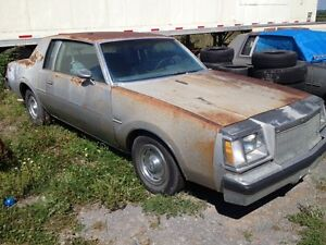 1978 BUICK REGAL TURBO COUPE x2