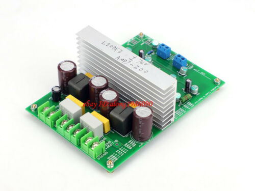 Hi-end L20DX2 IRS2092 Top Class D amplifier board IRAUDAMP7S 250W*2  ---L10-33