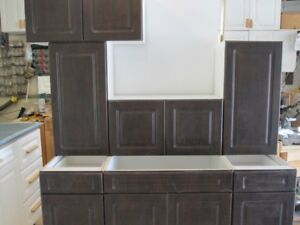 NEW CHOCOLATE DOOR KITCHEN--7Pieces