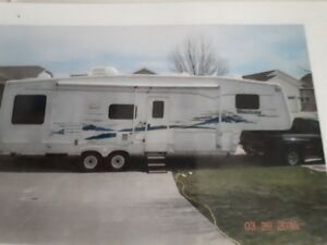 ROULOTTE MONTANA FIFTH WHEEL 2003....VITE VITE VITE