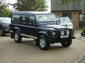 2003 Land Rover 110 Defender 2.5 TD5 County 9 Seater 48000 MILES FSH