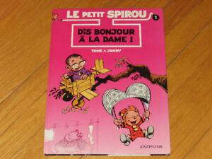 --BD/ LE PETIT SPIROU NO 1  / littérature auteur  collection