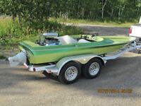1977 Rogers jet boat