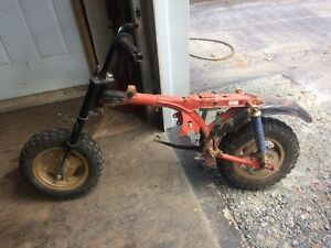 1989 Honda  Z50 project bike