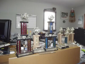 Various  Trophy's