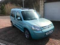 2003 Citroen Berlingo 2.0HDi Diesel 90 Multispace Forte Metallic Duck Egg Blue