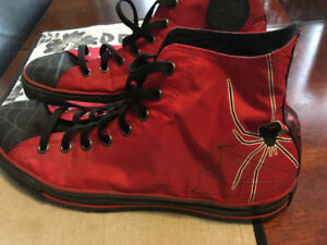 Spider-man Converse Shoes