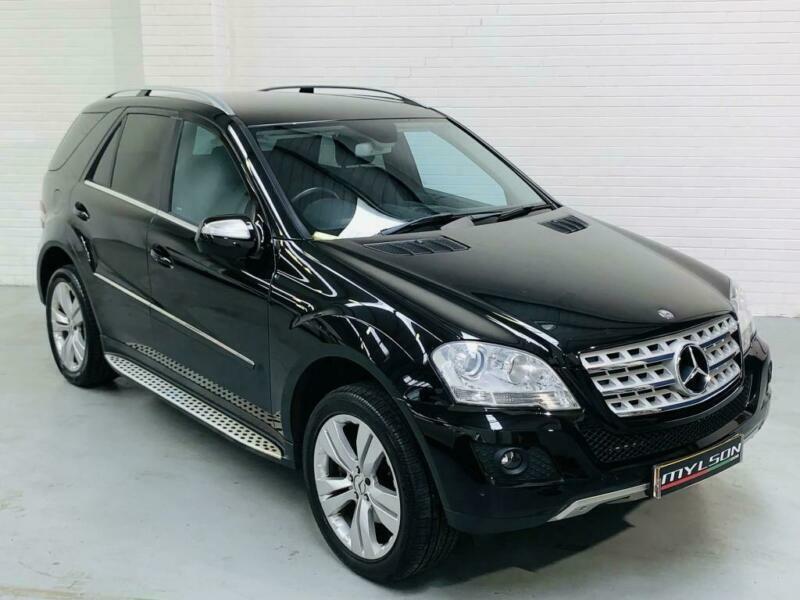 Mercedes Benz ML320 CDi Sport Auto Black 2009 3.0 Diesel ...