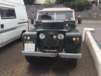 Land Rover series 2a 1964
