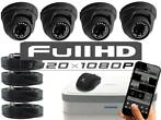 Full hd camerasysteem Hyundai 1080p 4xdome met internet TOP