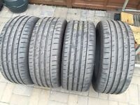 235/45/r17 tyres continental conti sport contact 3