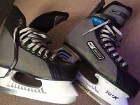 nike bauer supreme 11 ice skates size 6