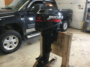 2004 Mercury 15 hp Outboard