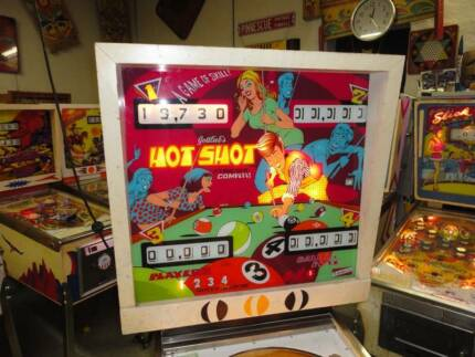 WANTED - Gottlieb Hot Shot or Big Shot Pinball Machine