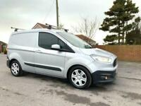 2015 Ford Transit Courier 1.5 TREND TDCI 75 BHP IN MOONDUST SILVER METALLIC PANE