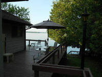 Sydenham Lake Cottage with great waterfront