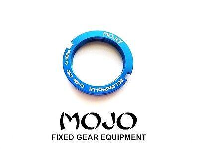 MOJO Fixed Gear Lockring Fits all cog sizes CNC Cro-Mo GREEN