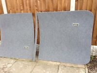 Vw Transporter T5 lwb carpeted roof panels lights